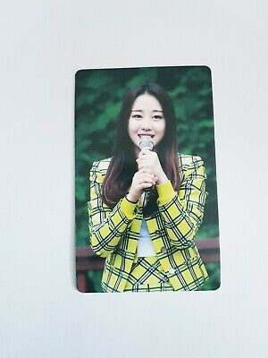 K-POP MONTHLY GIRL LOONA Yves Limited Photocard