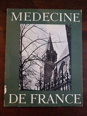 Medecine De France  Paris French Canada History Medicine 1961 Numero 119 (French Canada)