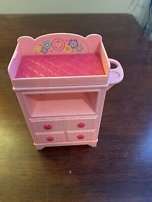 Barbie Doll I Can Be Babysitter Career Doll Playset BLL72 Dresser Changing Table