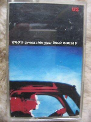 U2 Who's Gonna Ride Your Wild Horses + Bonus Remix Cassette UK 1992 NEVER PLAYED gebraucht kaufen  Versand nach Germany
