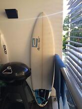 """6'5"""" CLEAR SURFBOARD (great for beginners too) _,,,/ mad shakas Bondi Junction Eastern Suburbs Preview"""