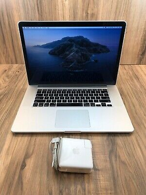 "Apple MacBook Pro 15"" Retina 512GB SSD 16GB RAM 2.3GHz Intel i7 Processor Tested"