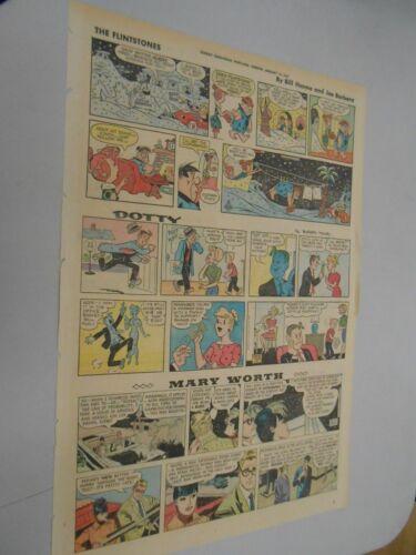 Sunday Comics- Jan. 15th 1967- The Oregonian- Flintstones- Yogi Bear & More ++