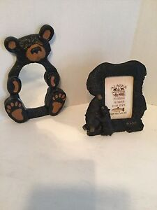 Bear Themed Mirror, Photo Frame & Cube - Brand New!!