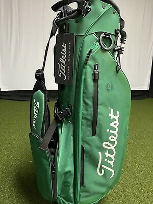 New Titleist St. Patrick's Day Players 4 Stand Bag
