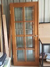 French Style Jarrah Double Doors Rockingham Rockingham Area Preview