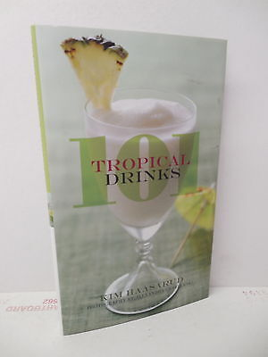 101 Tropical Drinks Recipe Book Beverages Bartending Coconut Guava Ginger - Tropical Rum Drinks