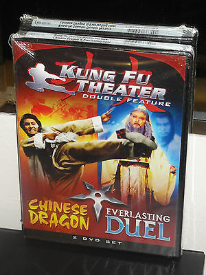 Kung Fu Theater Double Feature - Chinese Dragon / Everlasting Duel (2-DVDS) NEW!