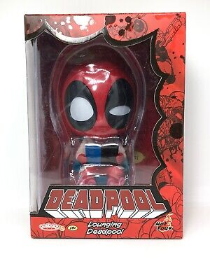 Hot Toys Lounging Deadpool Cosbaby Marvel X-Men Cosbabys POP