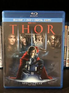 Thor 1 and 2 Blurays For Sale MINT CONDITION!