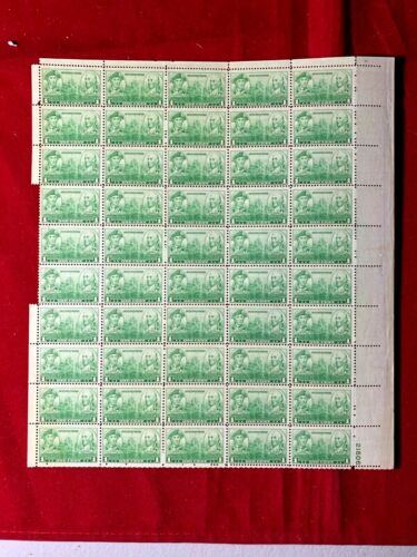 us 1936 NAVY (JONES - BARRY) #790 Mint NH- Sheet of 50 Postage Stamps