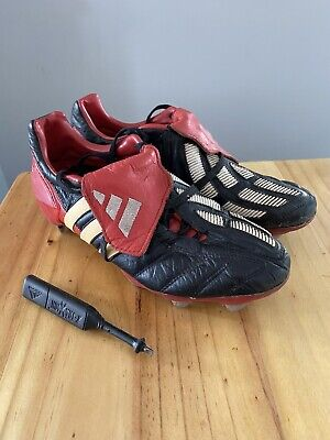 adidas predator mania size 8 football boots 2002 authentic100% With Screwdriver