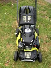ryobe lawn mower with  subaru 190cc 4 stroke ohv motor with catch Hadfield Moreland Area Preview