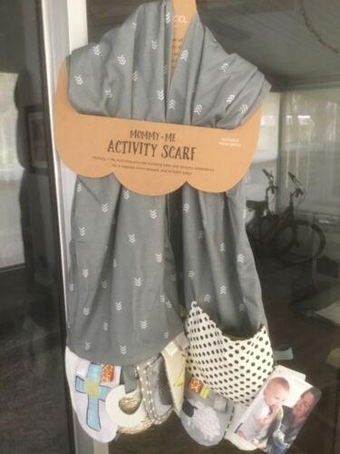 DEMDACO Mommy & Me Activity Scarf Faith Gray Baby Shower Christmas Gift Child