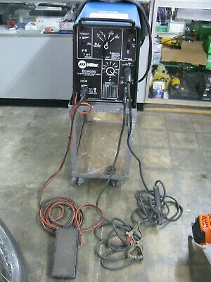 Portable Miller Econotig Acdc Welder
