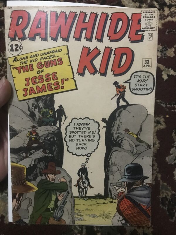 Rawhide Kid # 33 G/VG Stan Lee Marvel Rare