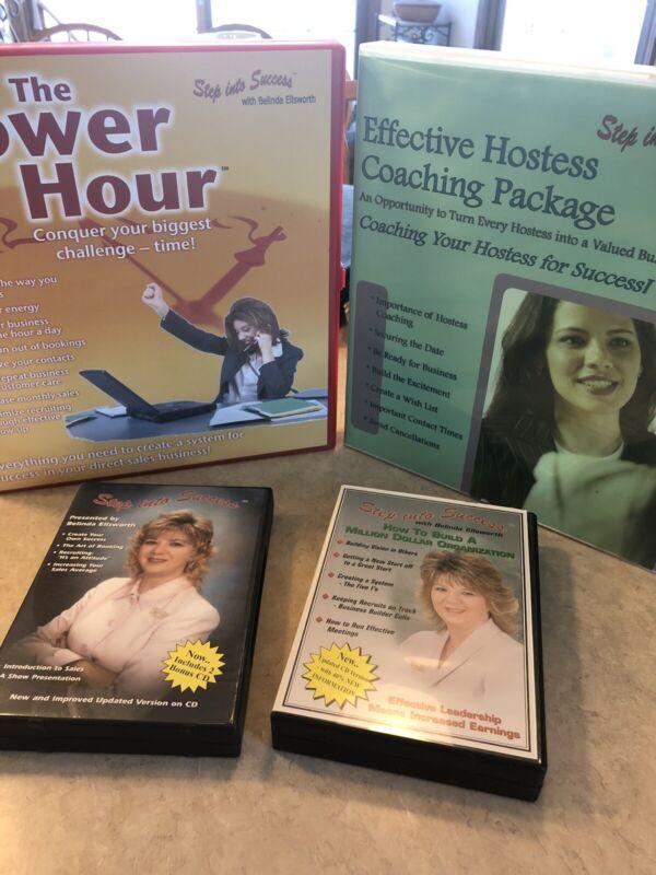 Step Into Success, Belinda Ellsworth. Lot Of Sales Training Videos