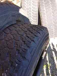 Goodyear Wrangler 4x4 tires Clontarf Redcliffe Area Preview
