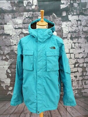 Men's The North Face Hyvent Ski / Snowboard Jacket. Blue, Size: XL