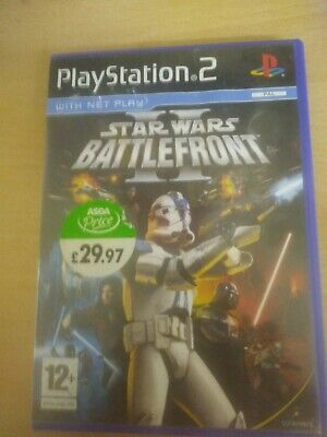 Star Wars Battlefront II 2 - Sony Playstation 2 Two Game PS2