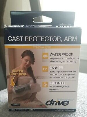 Drive Medical Waterproof Cast Protector, Arm Cast BRAND NEW FREE SHIPPING Arm Cast Protector