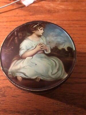 Vintage Advertising Tin, Benson's Cookies Chocolates, Age of Innocence, England
