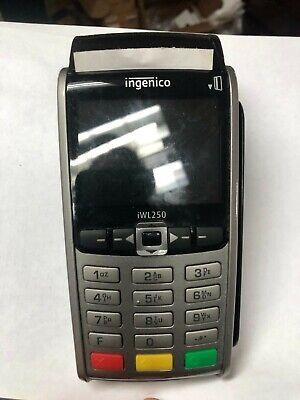 Used Ingenico Iwl255 Wireless Credit Card Terminal