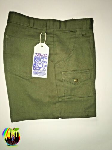 Boy Scouts of america vintage shorts pants trousers utility uniform size 30 80