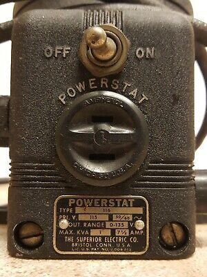Powerstat Motor Type 116