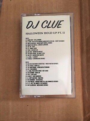 Dj Clue Halloween Haltende Pt. 2 Klassisch 90er Jahre Nyc Hip Hop Kassette ()
