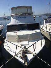 37ft Randell Flybridge - Sensational renovated/converted ex Cray Malaga Swan Area Preview