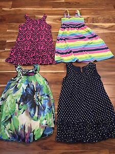 Girl summer dresses size 7-8