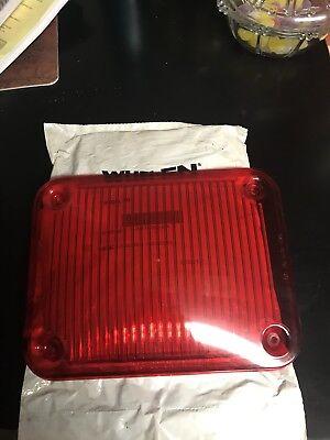 Whelen 900 Series Lens Cover - Red New