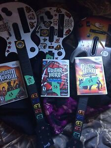 Guitar hero for the wii