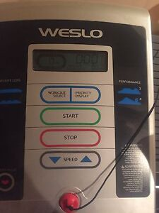Weslo treadmill for sale!!