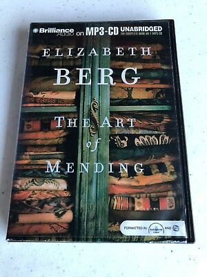 THE ART OF MENDING unabridbed Audio Book On MP3 CD By Elizabeth Berg