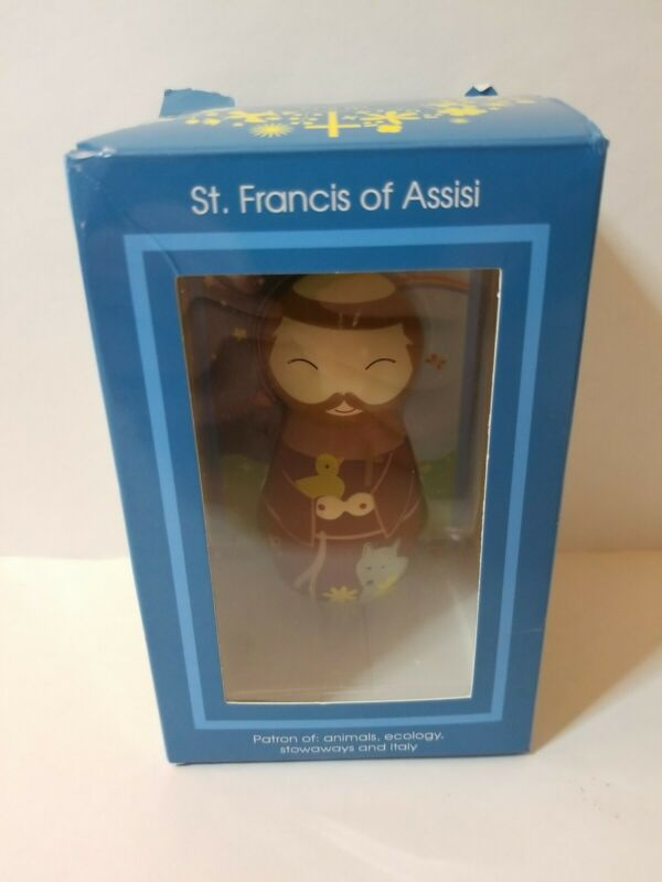 St  Francis of Assisi Shining Light Doll