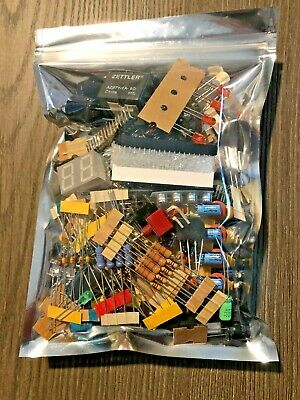 Tinker Lot Of Electronic Components Caps Res Others All Unused Parts Great Diy