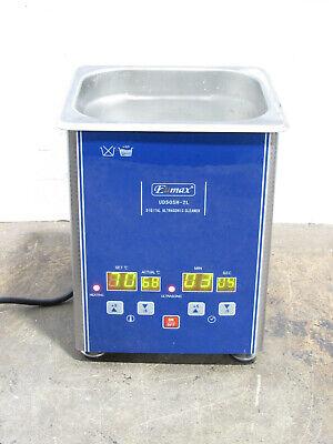 Testedworking Eumax Ud50sh-2l 2 Liter Digital Heated Ultrasonic Cleaner No Lid