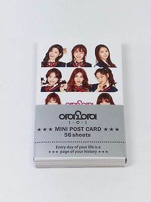 IOI Photo Mini Post Card 56 Sheets KPOP Jeon SoMi Kim SeJeong CheongHa SoHye DoY