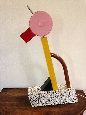 Post Mid Century Modern, Ettore Sottsass: Memphis Table Tahiti Lamp ()