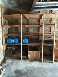 FREE dismantled SHELVING  pick-up by midday oct 2nd Bellevue Hill Eastern Suburbs Preview