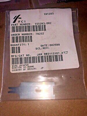 Amphenol Fci 155283-001 Wire Crimper Quantity 1