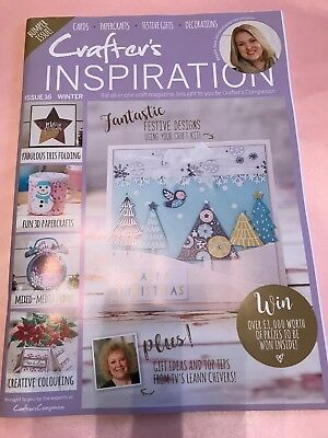 CRAFTERS INSPIRATION MAGAZINE ISSUE 16 WINTER CRAFTERS COMPANION &SARA DAVIES
