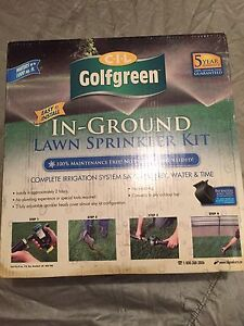 In-Ground Lawn Sprinkler Kit  (IN BOX)
