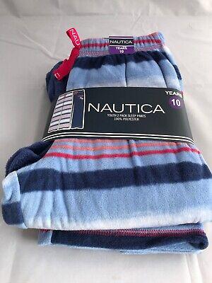 Girls Size 10 Years Nautica 2 pack pyjama bottoms sleep pants From Costco](Costco New Years)