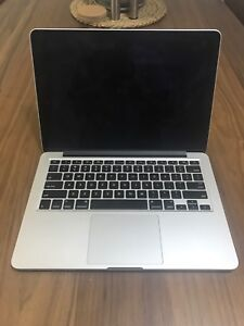 MacBook Pro Retina 13 inch, Late 2013, 2.4 GHz, 250GB HDD