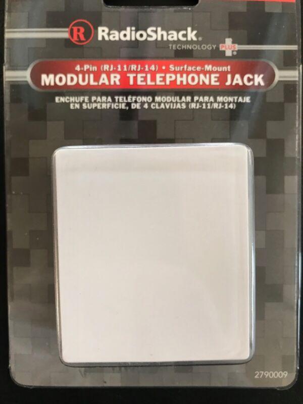 RadioShack Modular Telephone Jack (4 Pin, Surface Mount)
