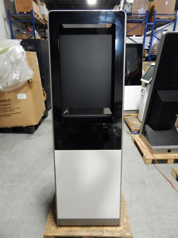 """New Vertical Portrait Retail Self Service Kiosk Enclosure For 32"""" LCD Monitor"""