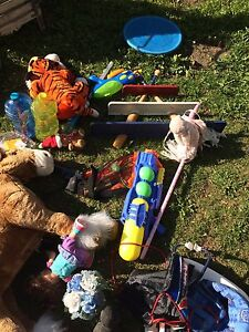 Assorted toys 5$ each